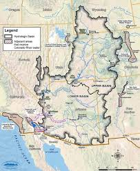 Colorado Maps by Colorado River Map With States