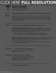 Objectives For Cna Resume Cna Resume Objective Free Resume Example And Writing Download