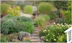 backyards modern landscaping ideas for downward sloping backyard