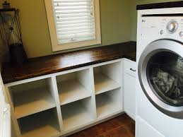 White Laundry Room Cabinets by Ana White Laundry Room Cabinets Diy Projects