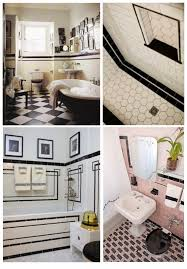 Art Deco Flooring Ideas by Great Pictures And Ideas Art Nouveau Bathroom Tiles