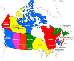 map of canada by province map of canada canada map canadian map map of canadian
