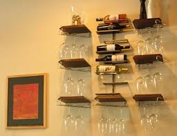 12 small space wine racks apartment therapy under counter wine