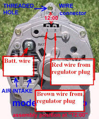 internal alternator wiring the 1947 present chevrolet u0026 gmc