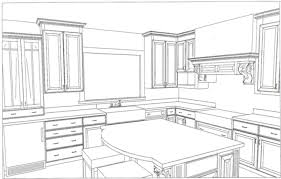 100 kitchen drawings sketch of kitchen layout unique home