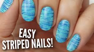 nail art nail art designs using only polish youtube with printed