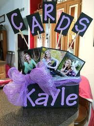 graduation card box graduation decoration ideas birthday party ideas