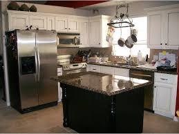 black island kitchen kitchen white cabinets black island and photos