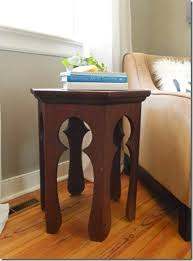 Build Wooden End Table by Remodelaholic Build A Modern Coffee Table And Matching End Tables
