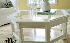 White Painted Coffee Table by Butler Tray Coffee Table Makeover Hometalk