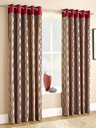 Shower Curtains With Red In Them Red And Brown Curtains Design U0026 Ideas 2018