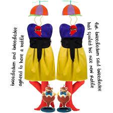 Tweedle Dee And Tweedle Dum Costumes Tweedledum And Tweedledee Polyvore