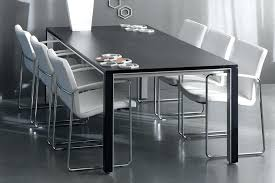 contemporary black dining room sets tag black modern dining table