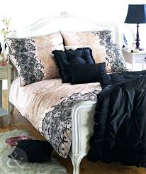 Sateen Duvet Cover King Black And White King Duvet Covers Black California King Duvet