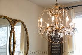 How To Make Crystal Chandelier Remodelaholic 25 Gorgeous Diy Chandeliers