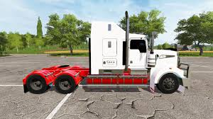 2017 kenworth t908 for farming simulator 2017