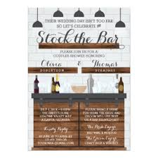 stock the bar shower stock the bar party mexican tequila invite zazzle