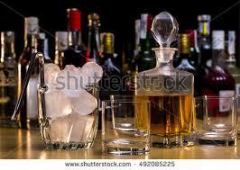 Whiskey Bottle Chandelier Crate Full Beer Bottles Stock Photo 377013919 Shutterstock