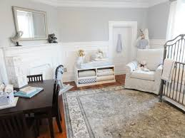blue gray paint nursery traditional with shelves solid color