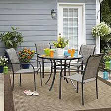 5 Pc Patio Dining Set Patio Dining Sets Outdoor Dining Chairs Sears