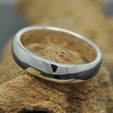 14k palladium white gold 14k palladium white gold ring 4mm x 1mm half wedding band