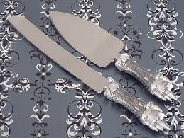 wedding cake cutting set cake server and knife set blank new york sublime events
