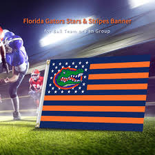 Florida Flag History 90x150cm University Of Florida Gators Flag Banners With Us Stripes