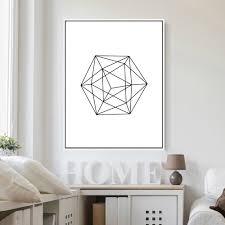aliexpress com buy modern home decor nordic minimalist geometric