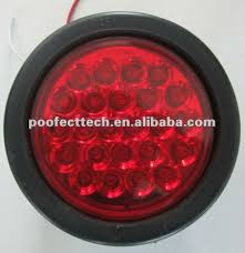 4 inch round led tail lights 4 inch round led tail light for trailer shop for sale in china