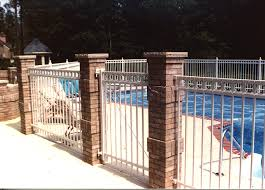 rnamental aluminum with decorative circles by elyria fence