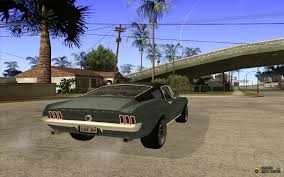 tuned mustang 1967 ford mustang gt tuned for gta san andreas