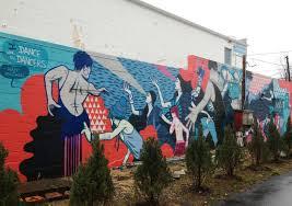 Dance Wall Murals D C Murals Serving As An Artful Alternative To Graffiti On Walls