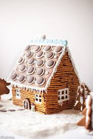 how to make a gingerbread house at home rustic log cabin