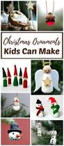 christmas ornaments kids can make easy christmas ornaments