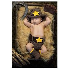 Newborn Halloween Costumes 0 3 Months Halloween Costume Baby Boys U0027 Newborn Cowboy Hat Diaper Cover 0 3