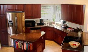 kitchen contractors island kitchen renovation with island and angled peninsula