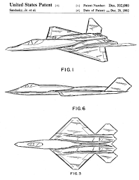yf 23 airplane patent airplane blueprint aviation art airplane