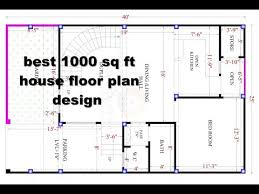 floor plans 1000 sq ft best 1000 sq ft house design floor plan elevation design