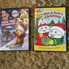 2 nickjr christmas dvds pets max u0026 ruby 4 00