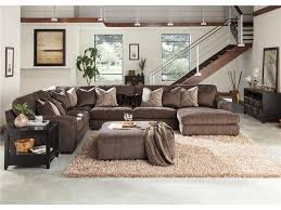 Living Rooms With Dark Brown Sofas Bedroom Brown Sofa By Goldsteins Furniture For Living Room