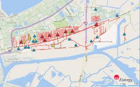 Map New Orleans by More Than 5 800 In New Orleans East Still Without Power After
