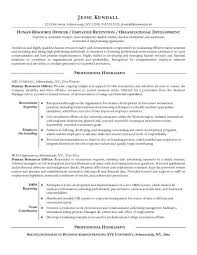 Resume Of Hr Recruiter Human Resource Resume Examples Hr Resume Cv Templates Hr