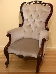 Victorian Sofa Reproduction Mahogany Victorian Arm Chair Foter