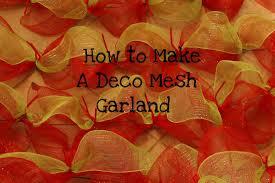 make a deco mesh christmas tree christmas lights decoration