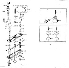 Kitchen Sink Faucet Parts Diagram Bathroom Sink Parts Diagram