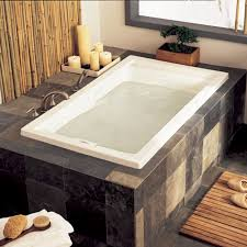 Bathtubs With Jets Evolution 60x32 Inch Deep Soak Everclean Whirlpool American Standard
