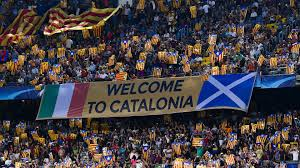The Flag In Spanish Catalan Independence How Barcelona And La Liga Would Be Affected