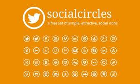 40 best free social media icons 2017 long shadow glyphs flat