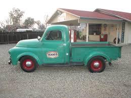 Classic Ford Truck Database - 1951 dodge pickup truck b series texaco shop truck classic rat
