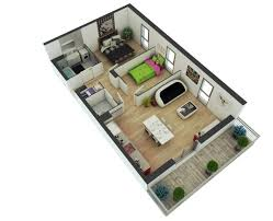 One Bedroom Apartments Design Gorgeous Two Bedroom Apartment Design Ideas 2 Bedroom Apartments